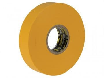 Electrical Insulation Tape Yellow 19mm x 33m